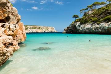 Einer der schönsten Strände auf Mallorca: Calo des Moro