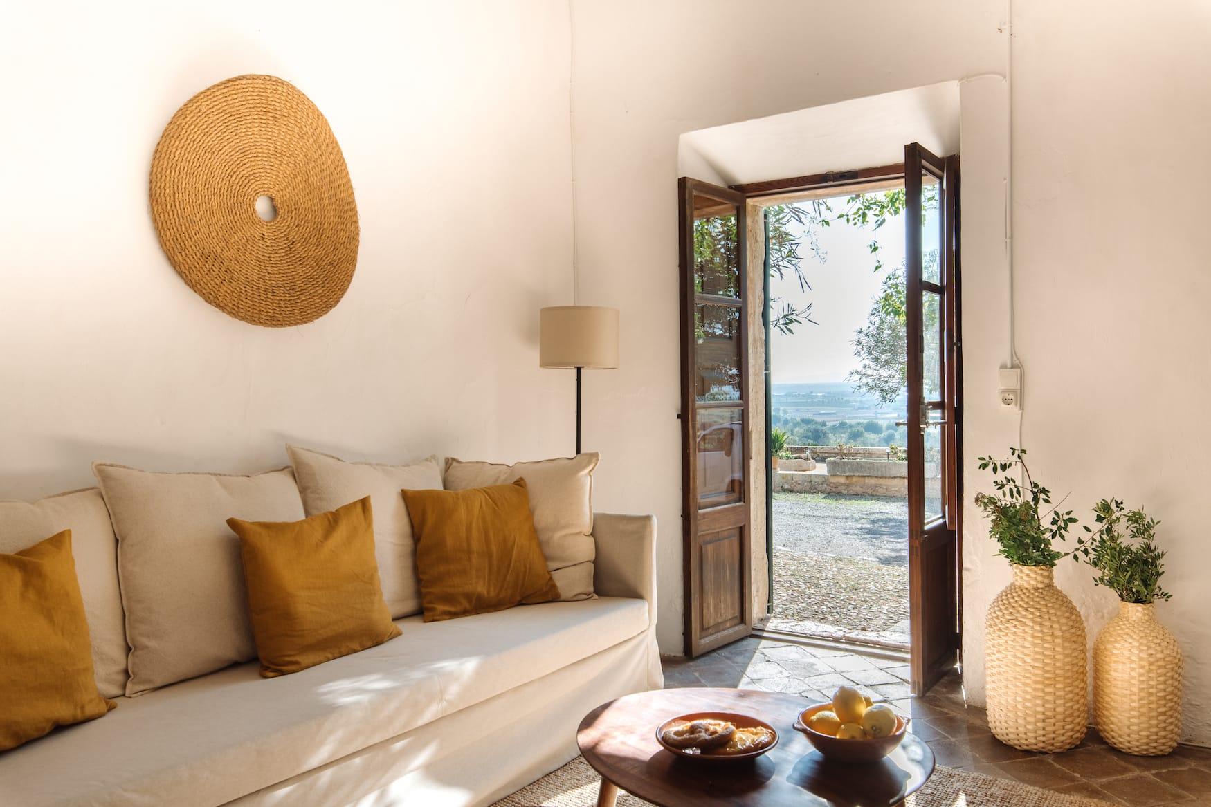 Mallorquinischen Interior in einem Ferienhaus auf Mallorca