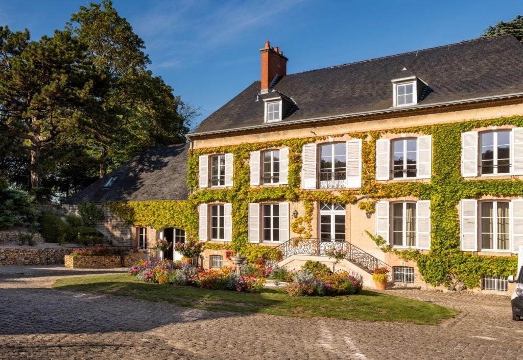 Schickes Landhaus in der Champagne