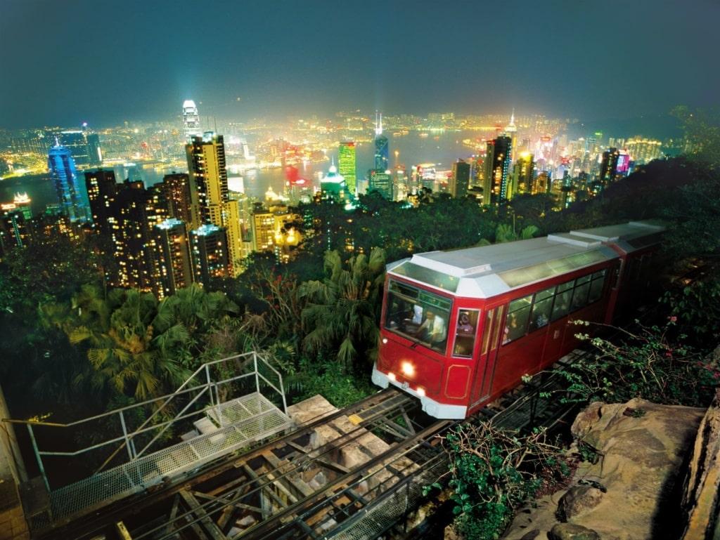 Peaktram in Hongkong