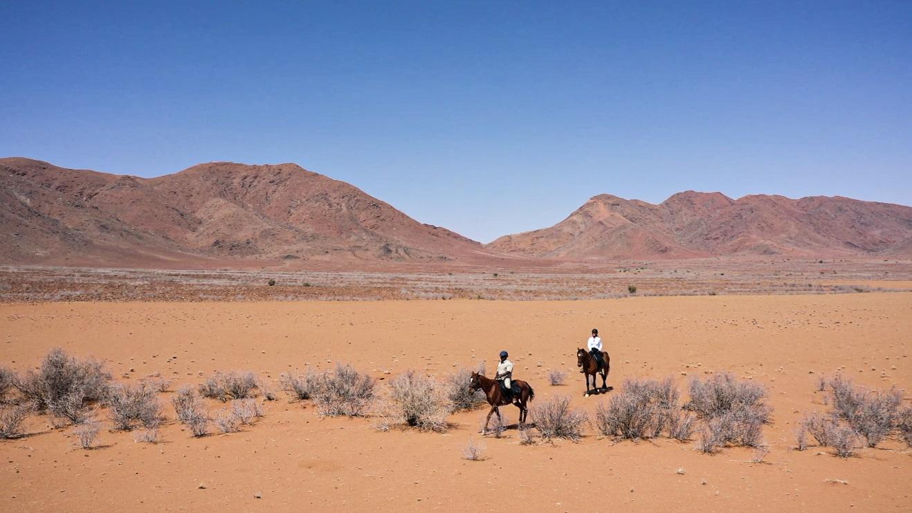Pferdeurlaub in Namibia