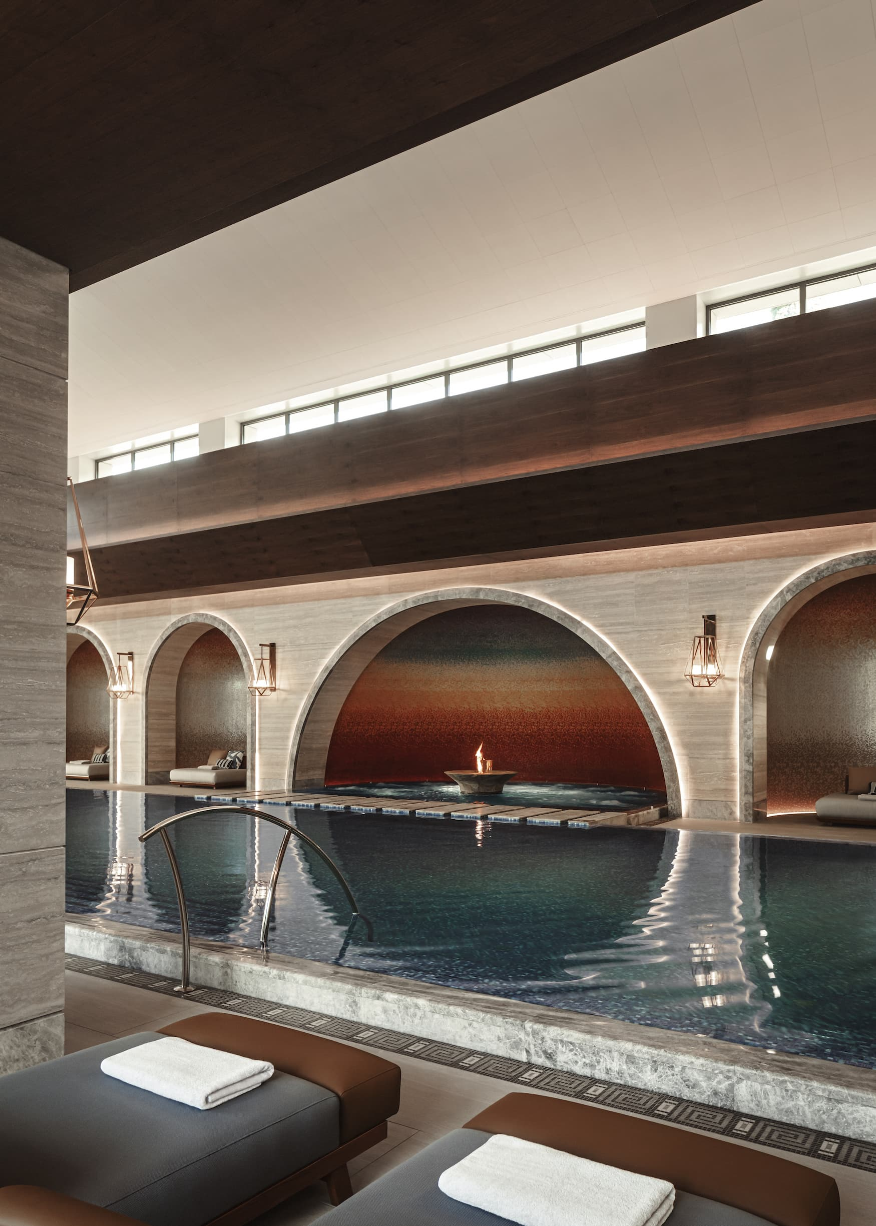 Wellnessbereich im One& Only Resort Portonovi