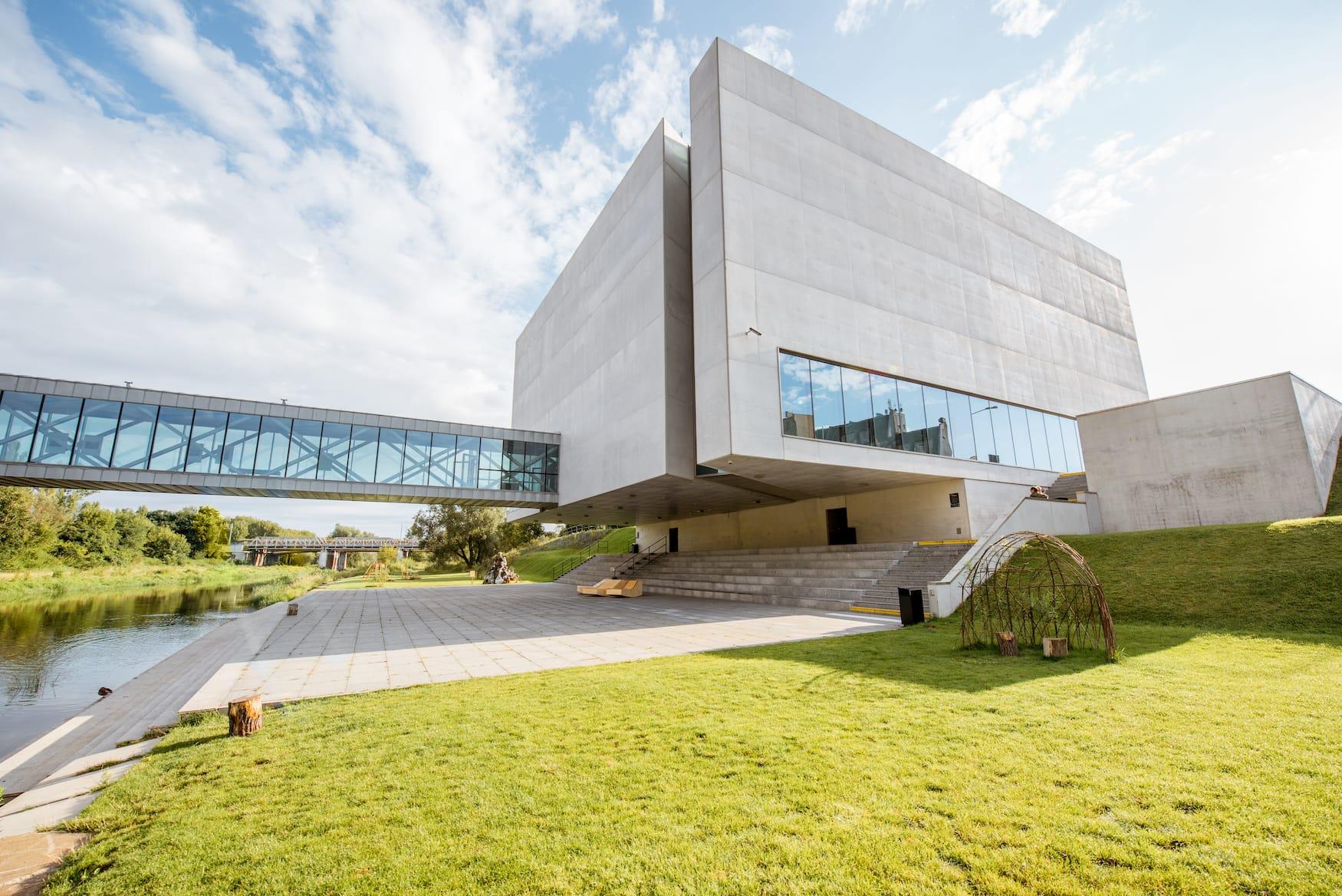 Moderne Architektur an der Porta Posnania