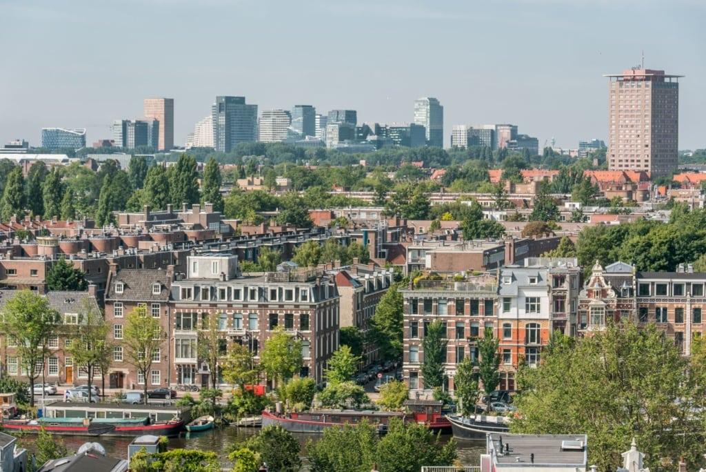 Ausblick auf Amsterdam