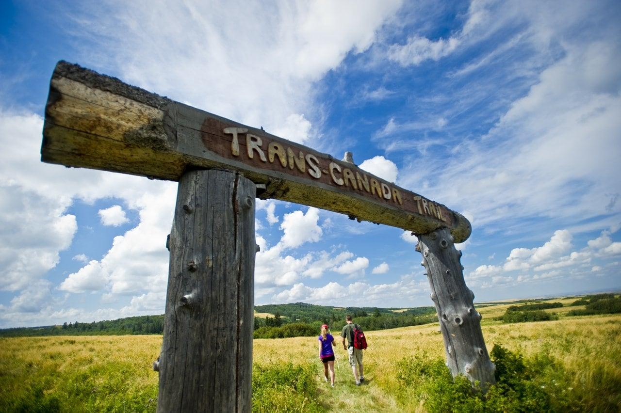 The Great Trail - Ein Wanderweg durch die Cypress Hills in Kanada