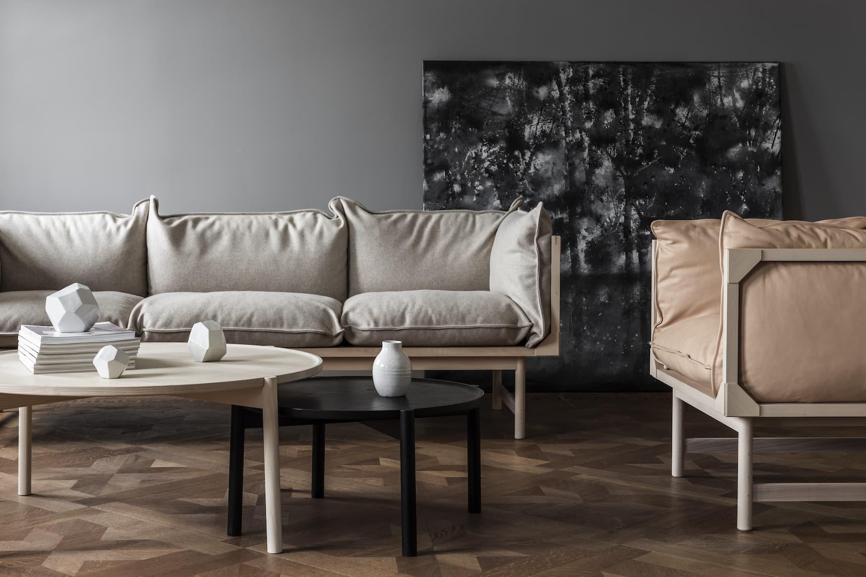 Design-Sofa von Gärsnäs