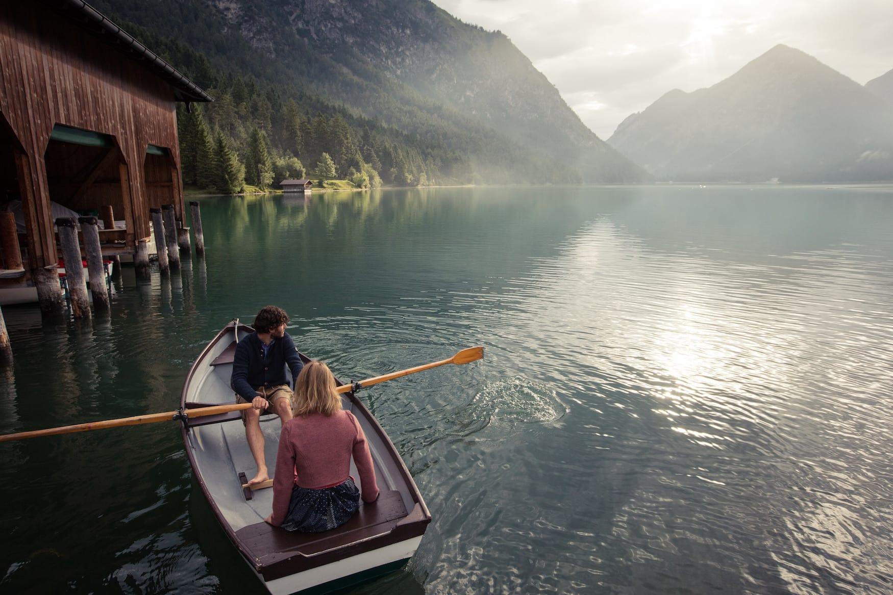 Der Heiterwanger See gehört zu den fünf schönsten Wasserplätzen der Tiroler Zugspitz Arena.