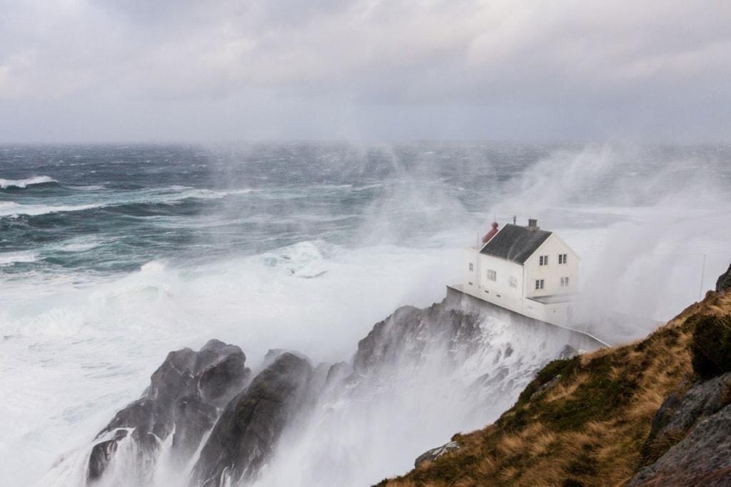 Leuchtturm Krakenes in Norwegen