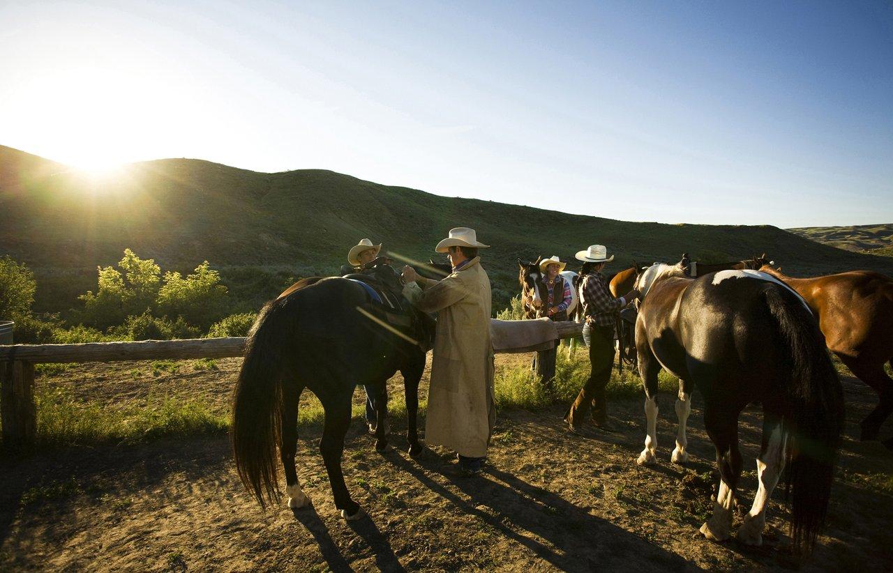 Cowboy-Ausritte auf der La Reata Ranch