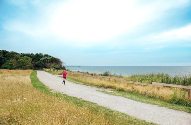 Diese Weite, diese Luft, dieses Meer! Joggen in der Natur ist Annes Lebenselixier.   TMV/Tiemann