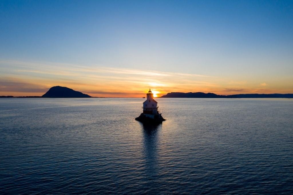 Leuchtturm Stabben in Norwegen
