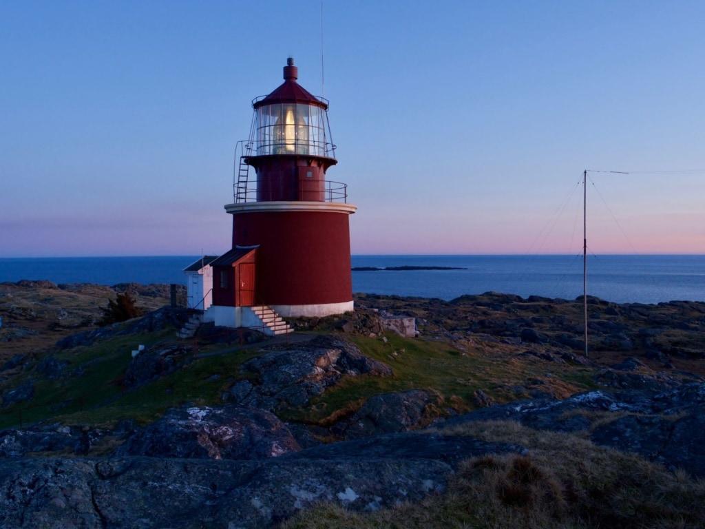 Leuchtturm Utsira in Norwegen