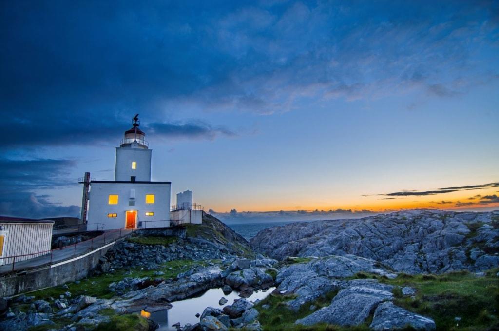 Marstein-Leuchtturm in Norwegen