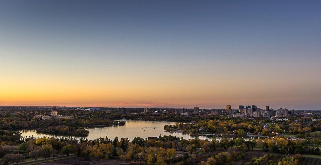 Regina, die Provinzhauptstadt Saskatchewans