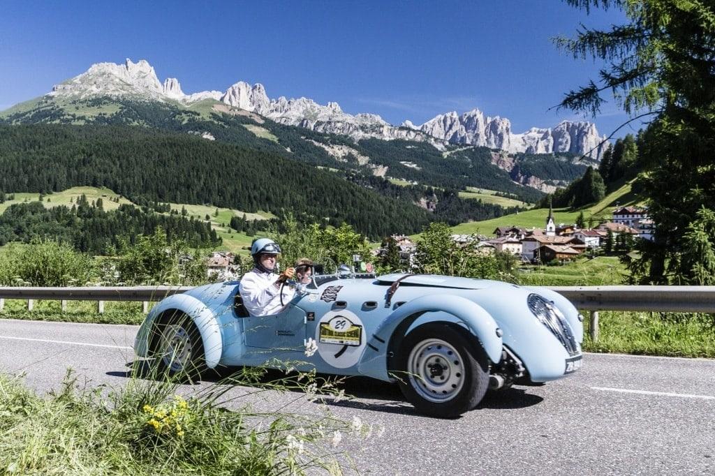 Bei der Rallye Südtirol Classic Schenna ist ein Oldtimer schicker als der andere.