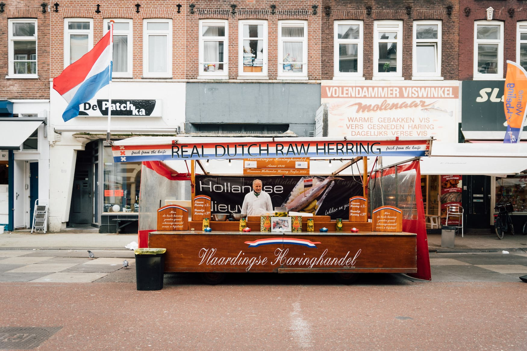 Heringstand in Amsterdam