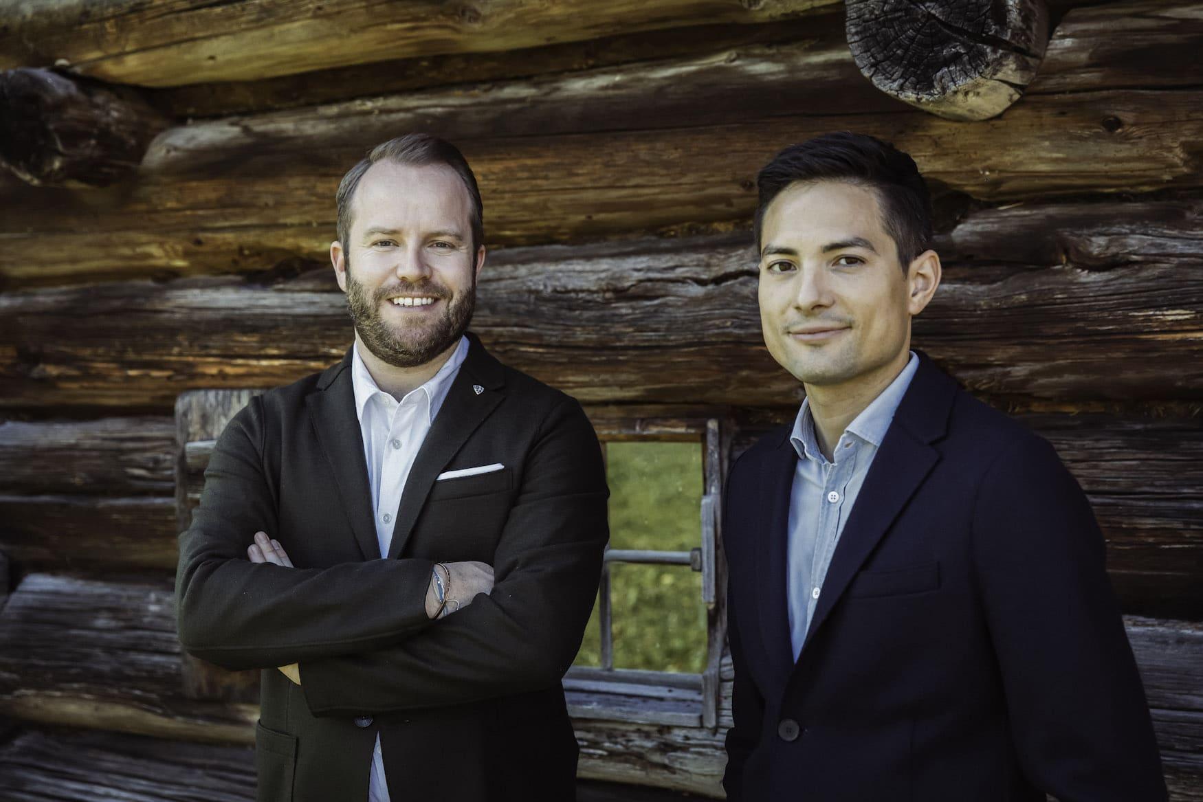 Benjamin Schneider und Patrick Krummenacher leiten das Hotel Arlberg