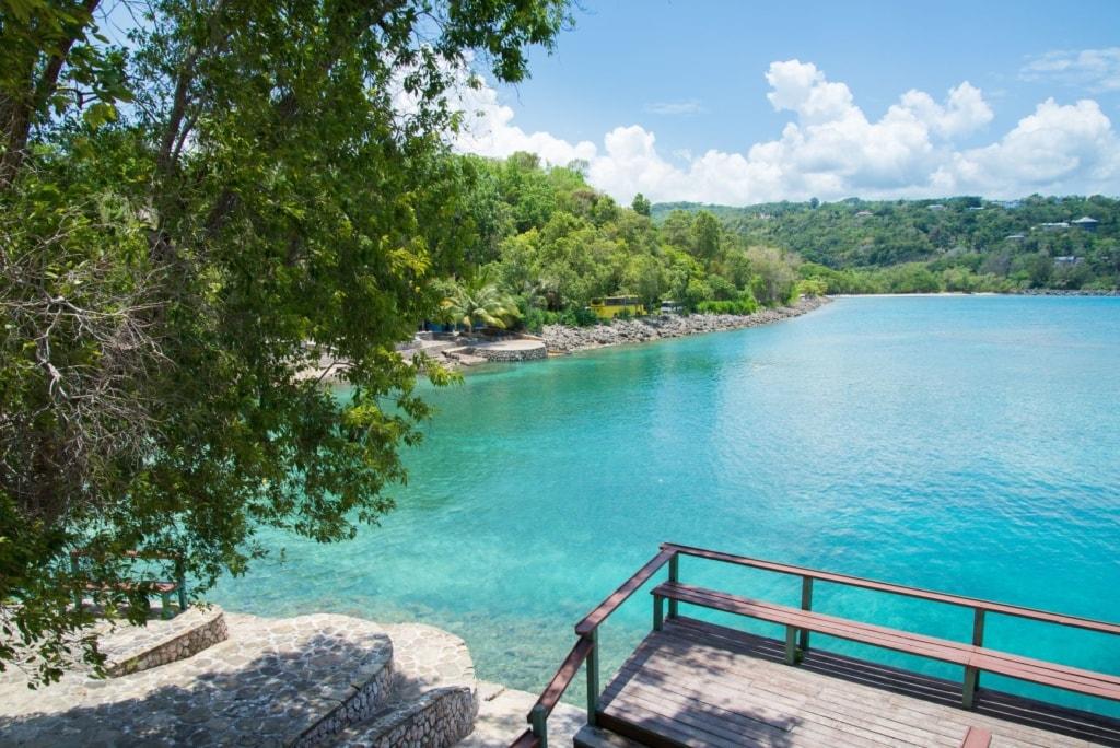 James Bond Beach auf Jamaika