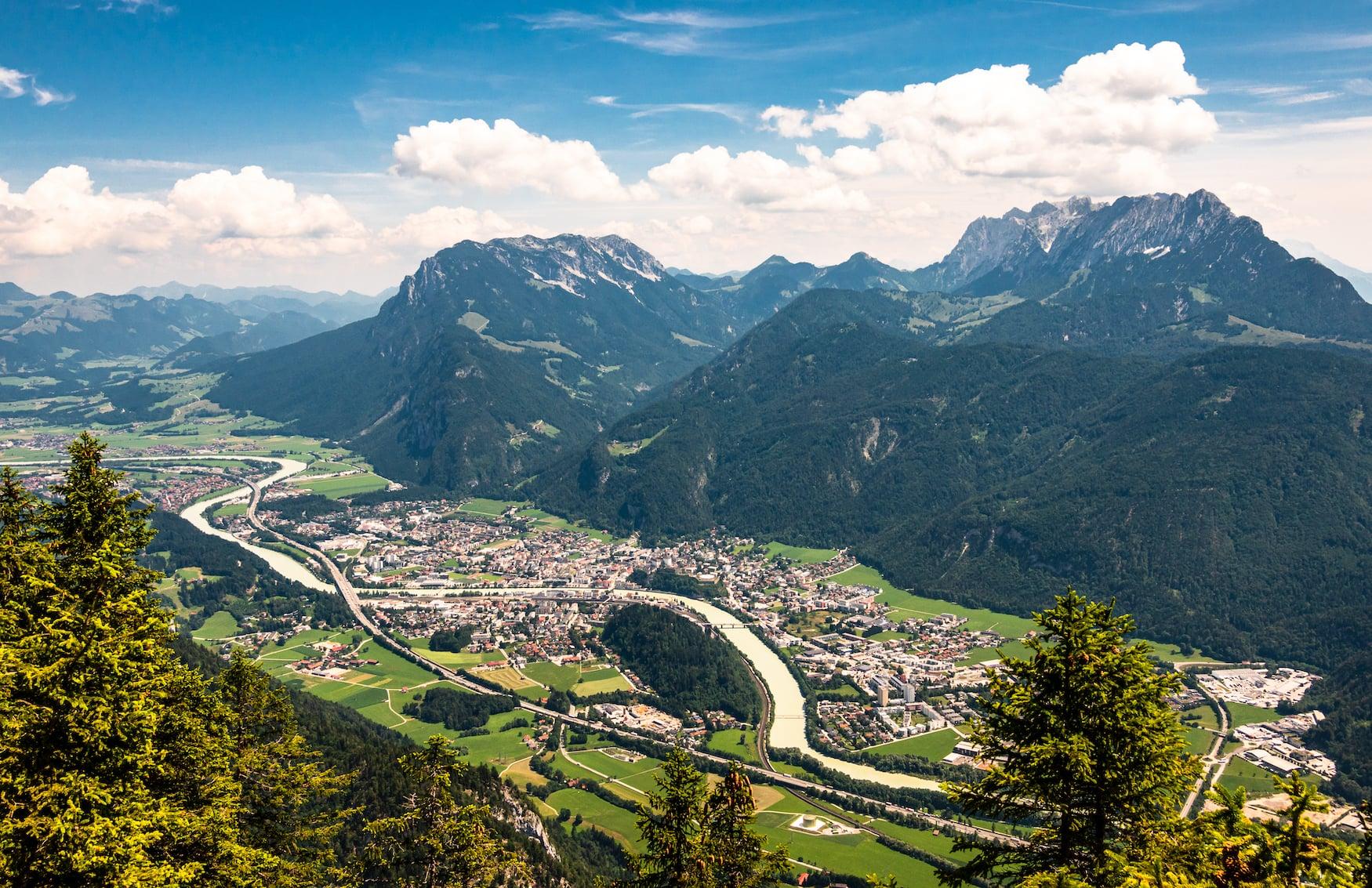 Blick über das Kufsteinerland