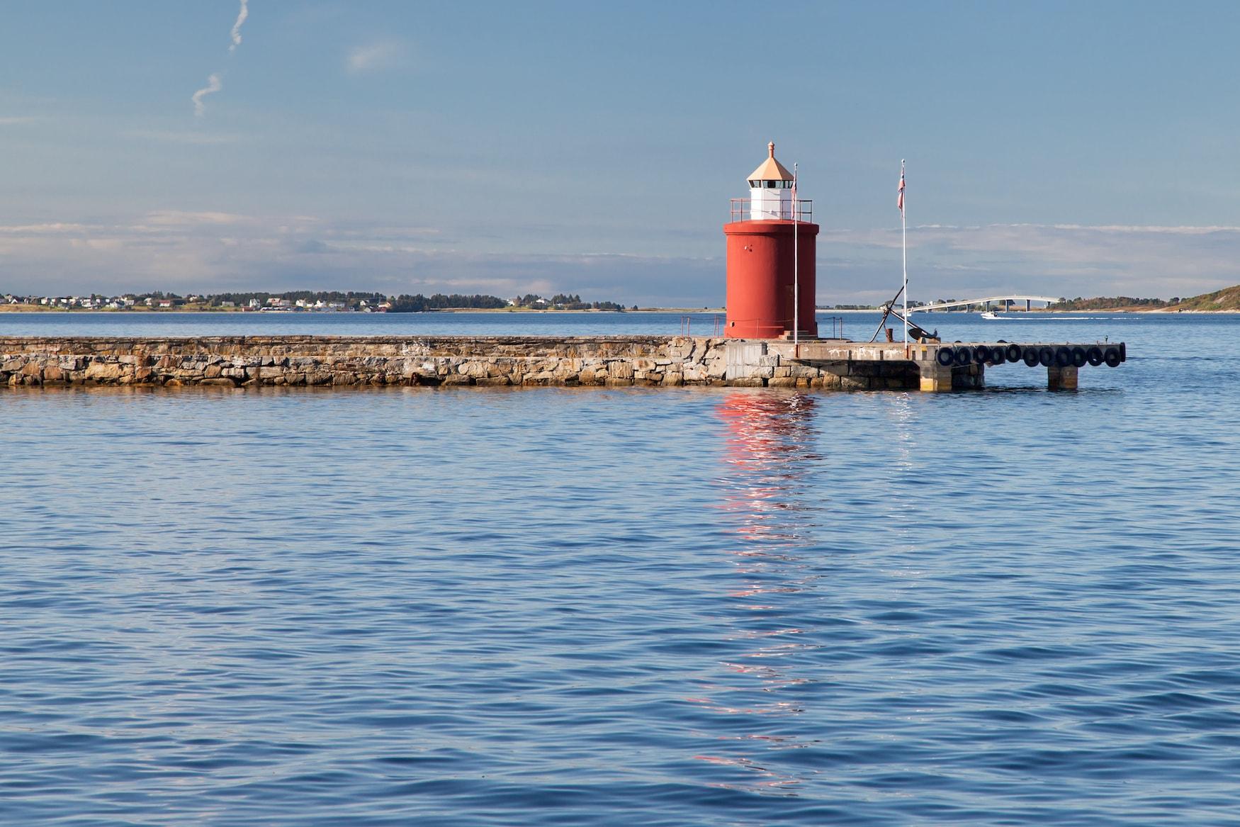 Molja-Leuchtturm in Norwegen