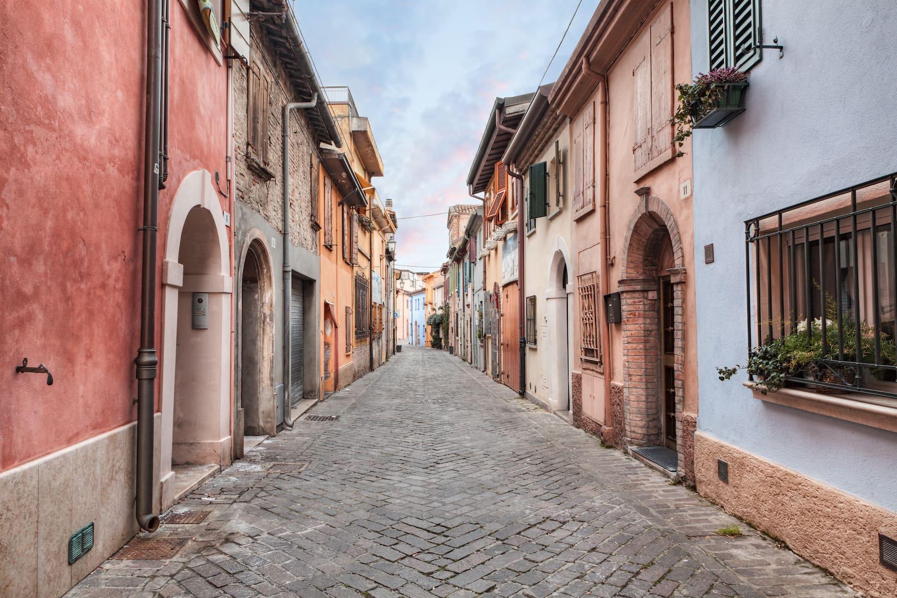 San Giuliano Vorort von Rimini