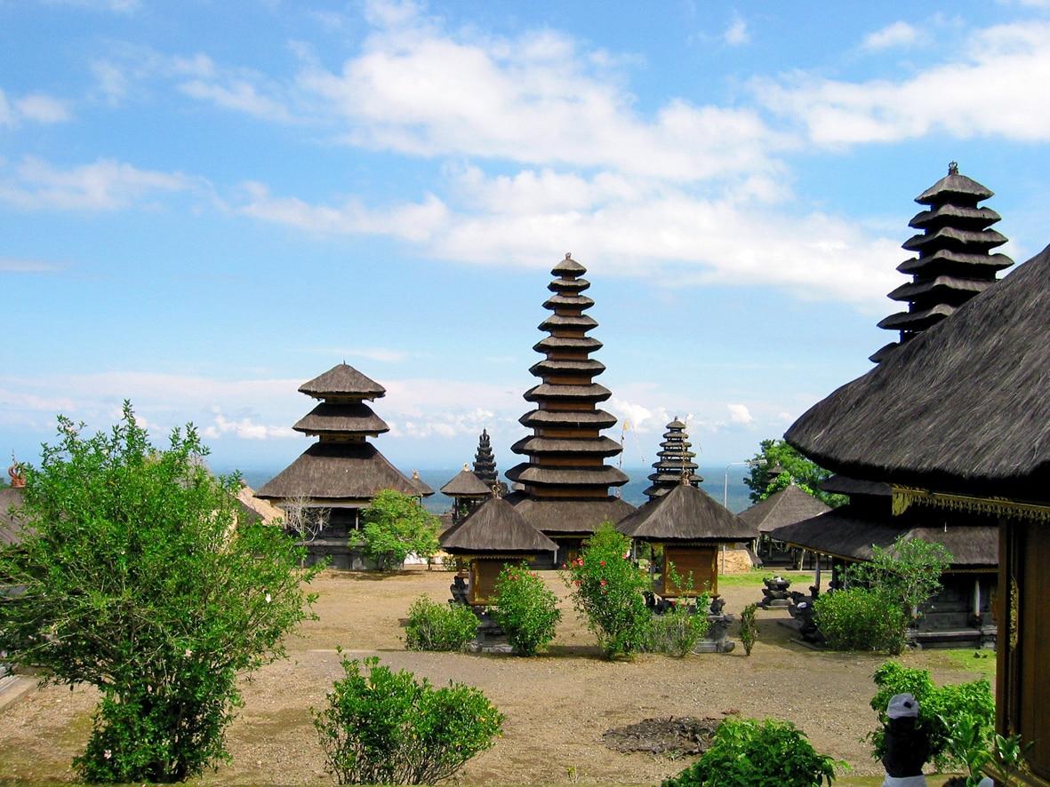 Besakih-Tempel auf Bali