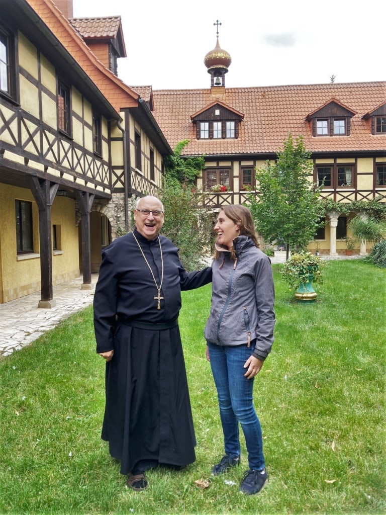 Im Kloster St. Wigbert kann man Pater Franz kennenlernen!