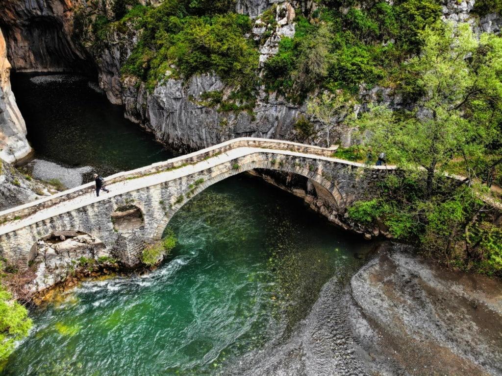 Grevena-Steinbrücke in Griechenland