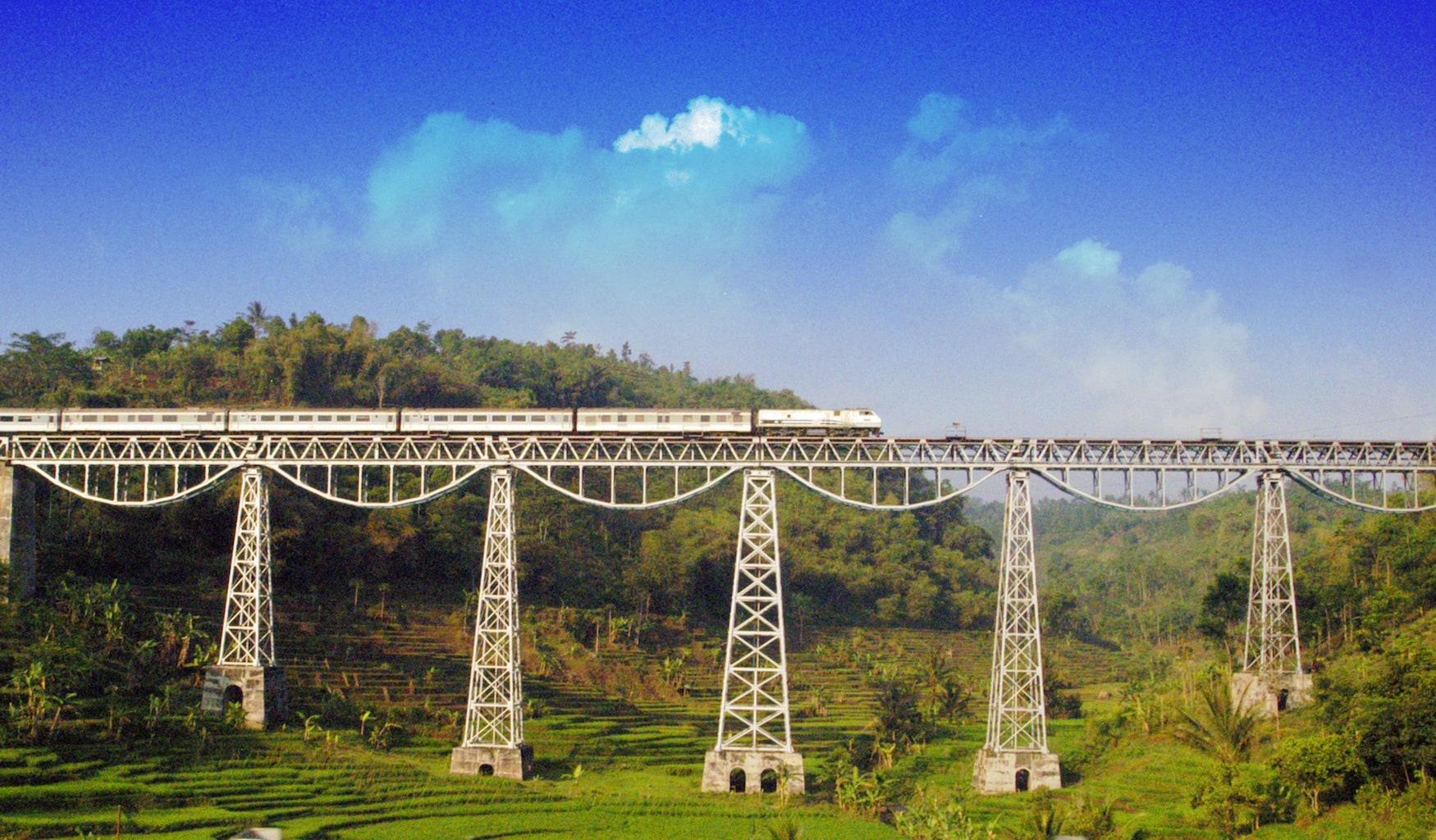 Cipularang Brücke auf Java, Indonesien