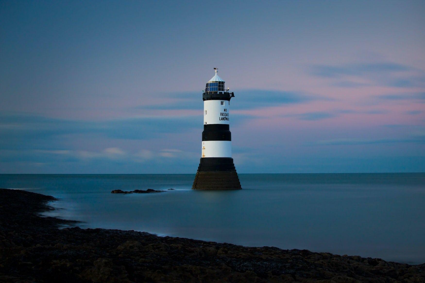 Leuchtturm auf Anglesey - schönste britische Inseln