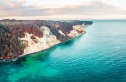 Steilküste Mons Klint in Dänemark