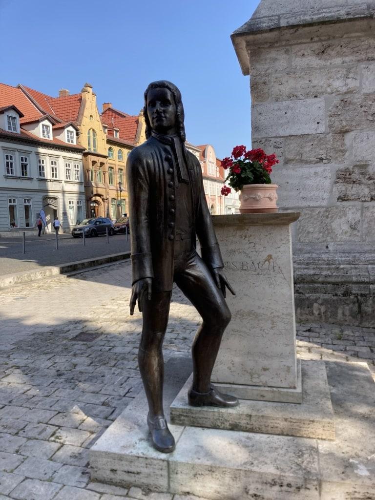 In Mühlhausen war auch der junge Johann Sebastian Bach aktiv.