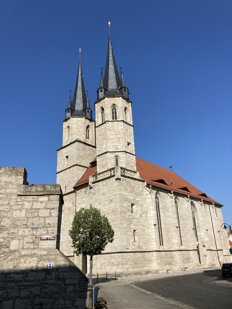 Die Marienkirche in Mühlhausen ist ein geschichtsträchtiger Ort.
