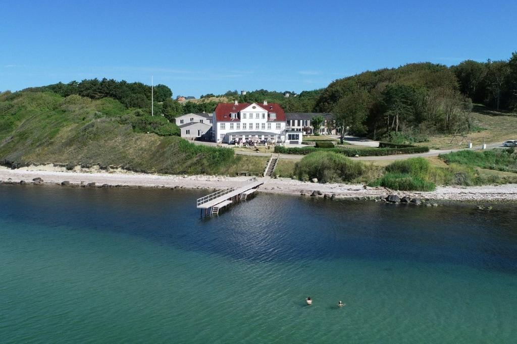 Strandhotel Røsnæs in Dänemark