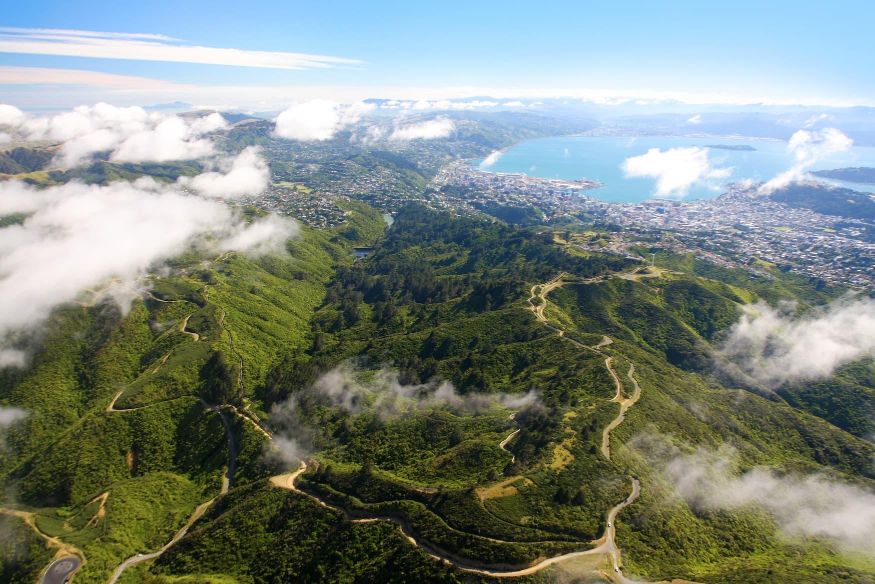 Zealandia Naturpark nahe Wellington in Neuseeland