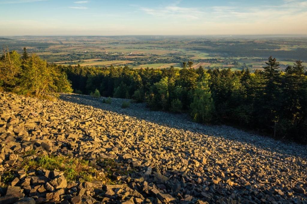 Heiligkreuzgebirge in Polen