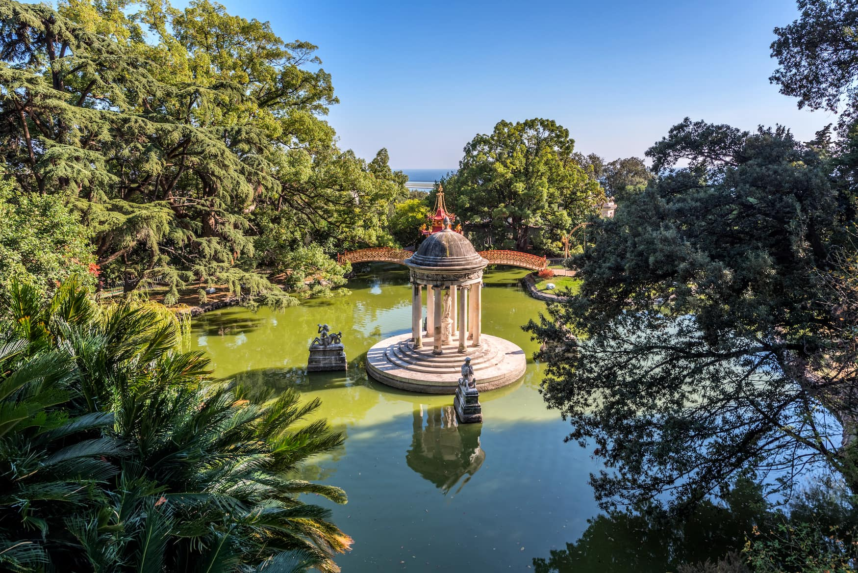 Gärten der Villa Durazzo Pallavicini