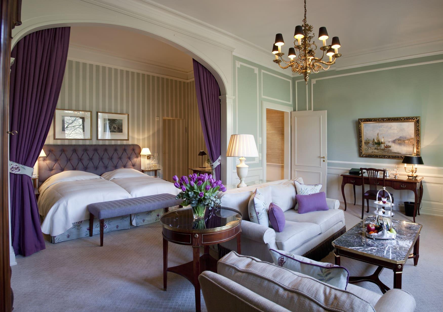 Prestige Junior Suite in Grandhotel im Schwarzwald