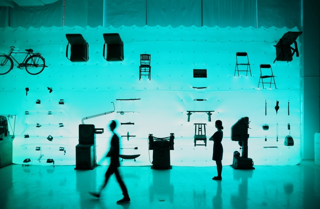 Das Yang Design Museum in Shanghai beschäftigt sich mit futuristischem Design.