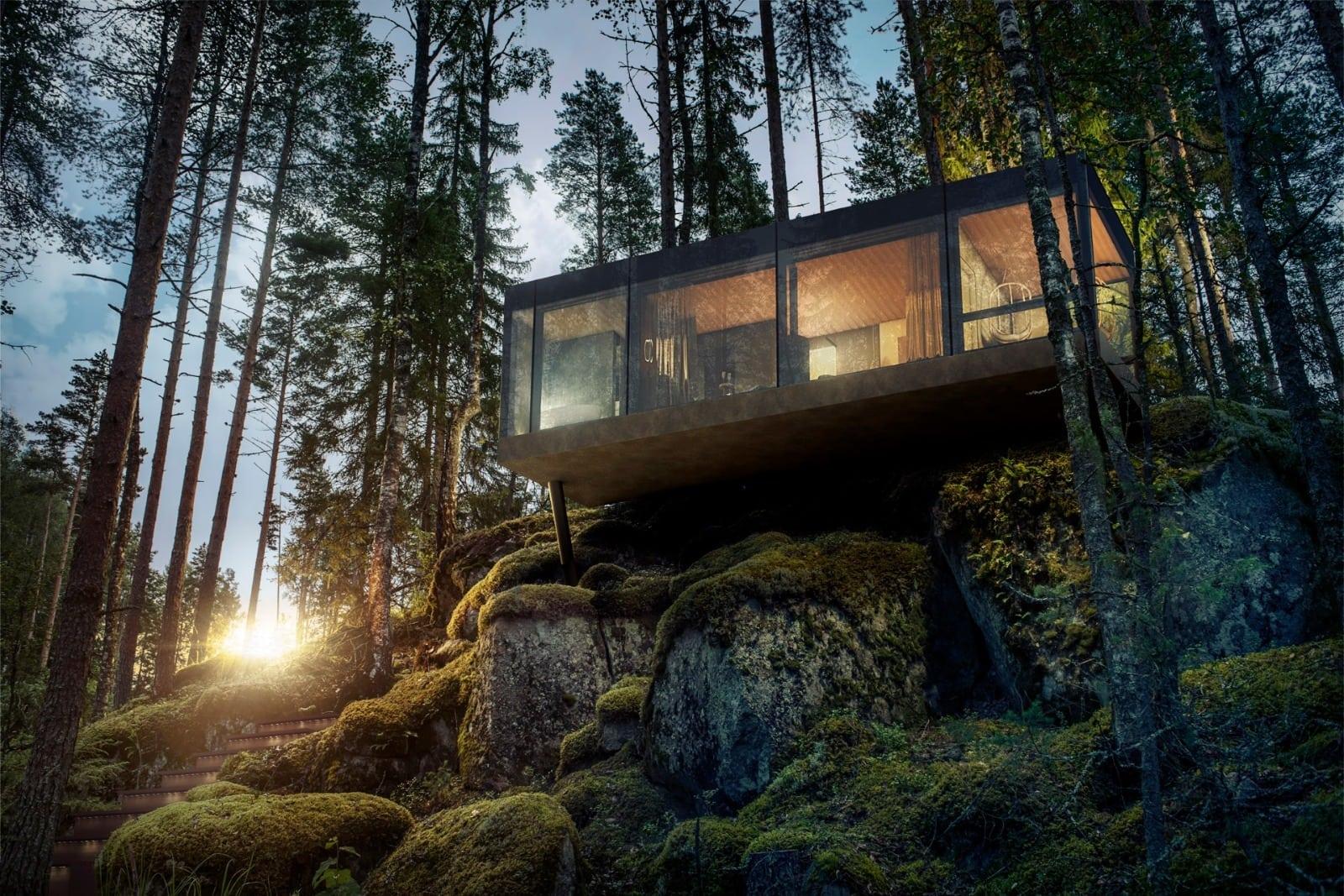 Lake Villa - Eindes der schönsten Hotels in Finnland mitten in der Natur