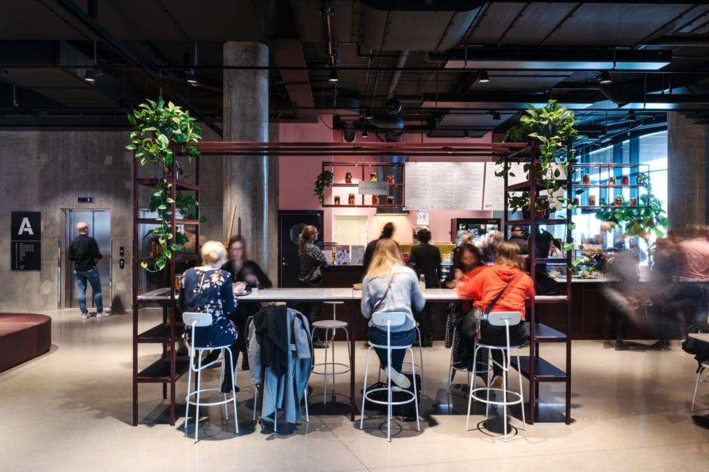 Lobby Story Hotel Studio Malmö