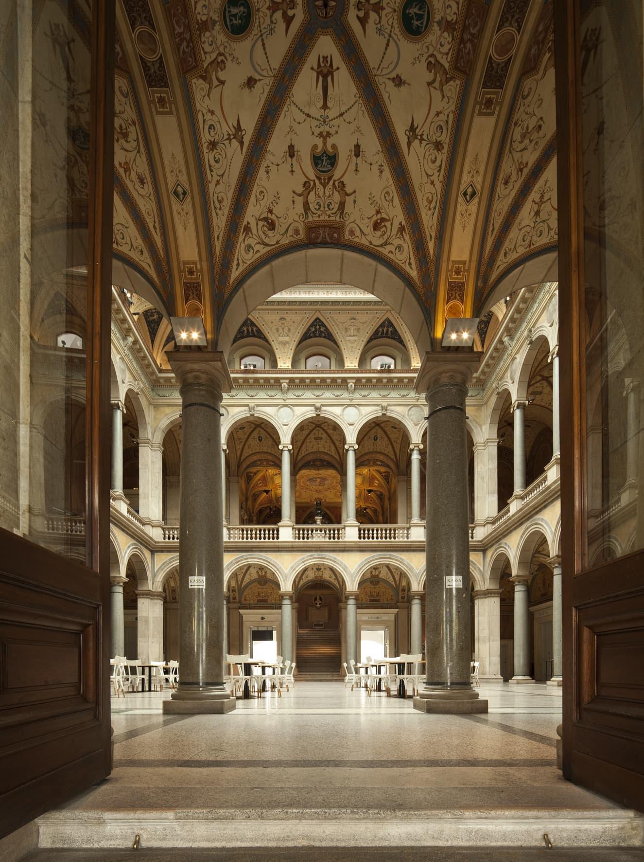 Das MAK in Wien ist eines der coolsten Design-Museen der Welt - nicht umsonst wegen seiner tollen Architektur.