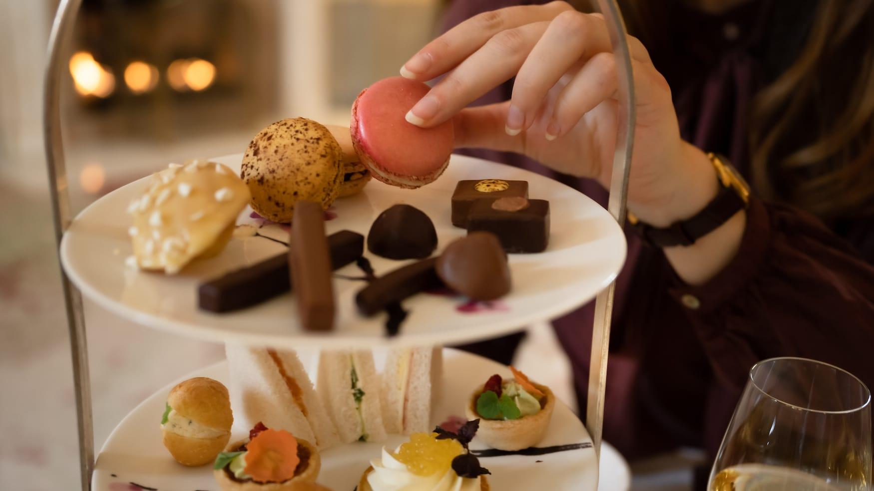 Macaron Forêt Noire im Brenners Park-Hotel & Spa