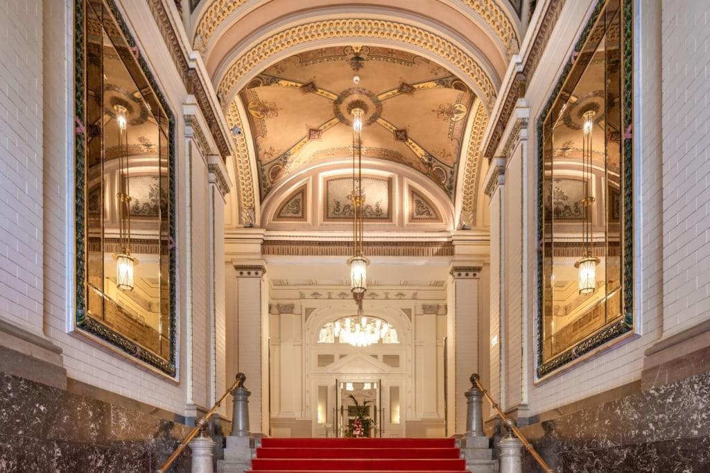 Innenansicht Hotel Prague Carlo