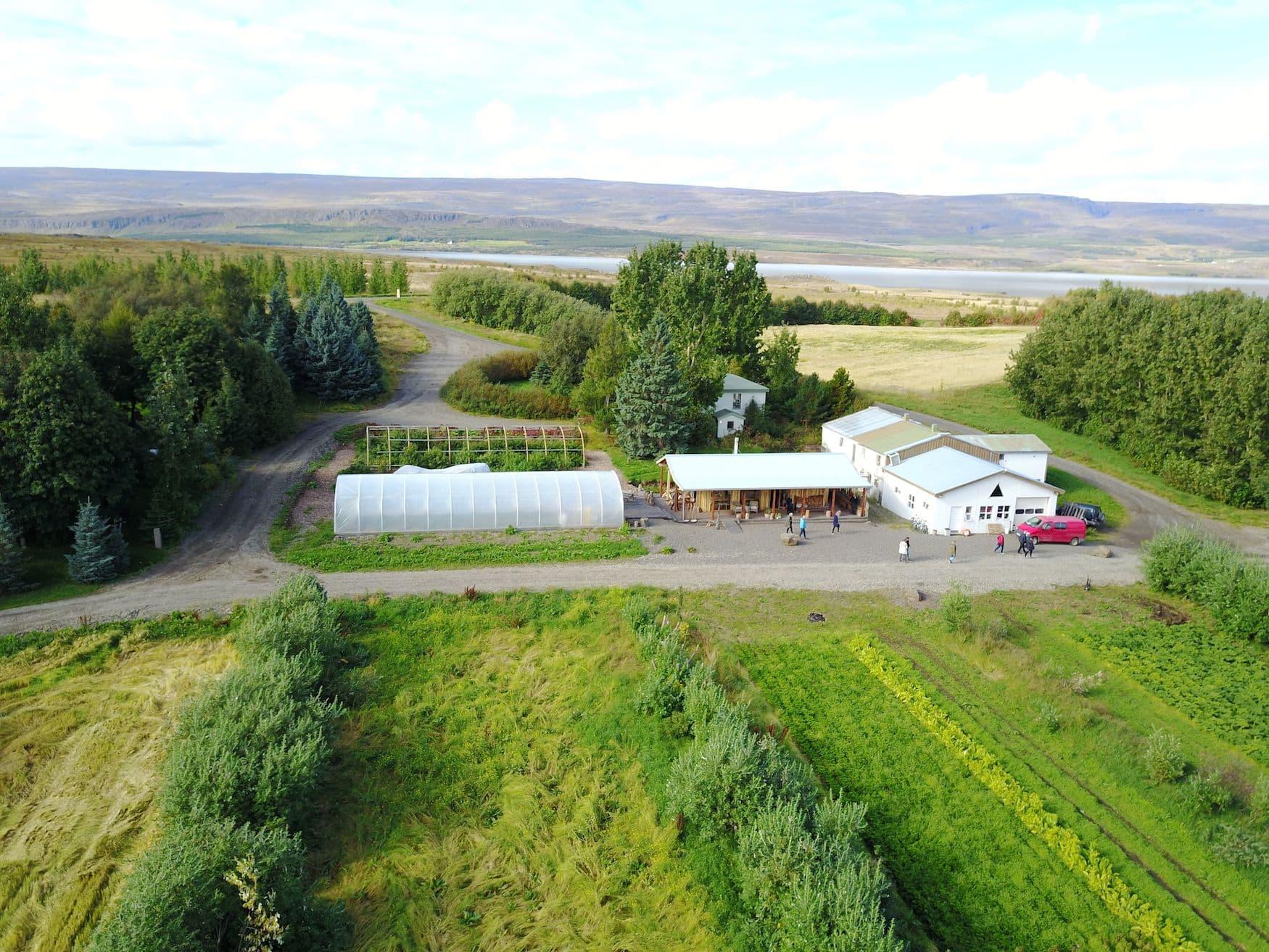 Biobauernhof Móðir Jörð auf Island