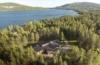 Resort in den Schären von Finnland