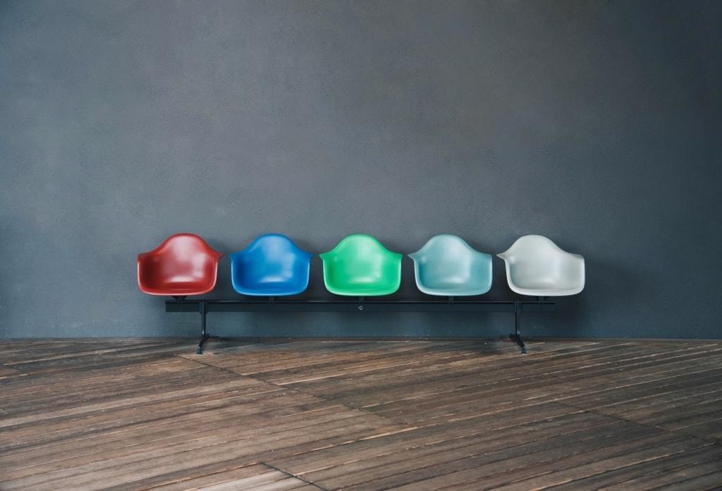 Im Vitra Design Museum in Weil am Rhein dürfen selbstverständlich extravagante Stühle nicht fehlen.