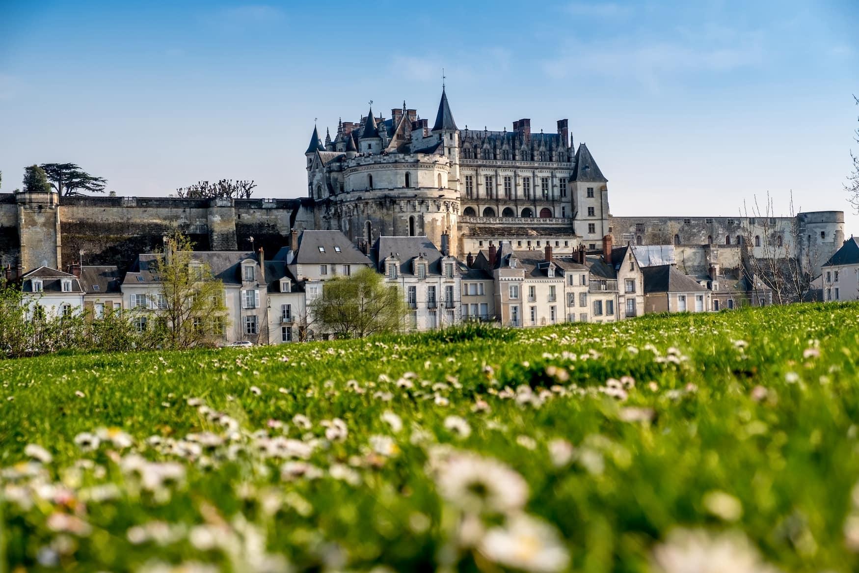 Eines der bekanntesten Schlösser im Loiretal ist das Schloss Amboise