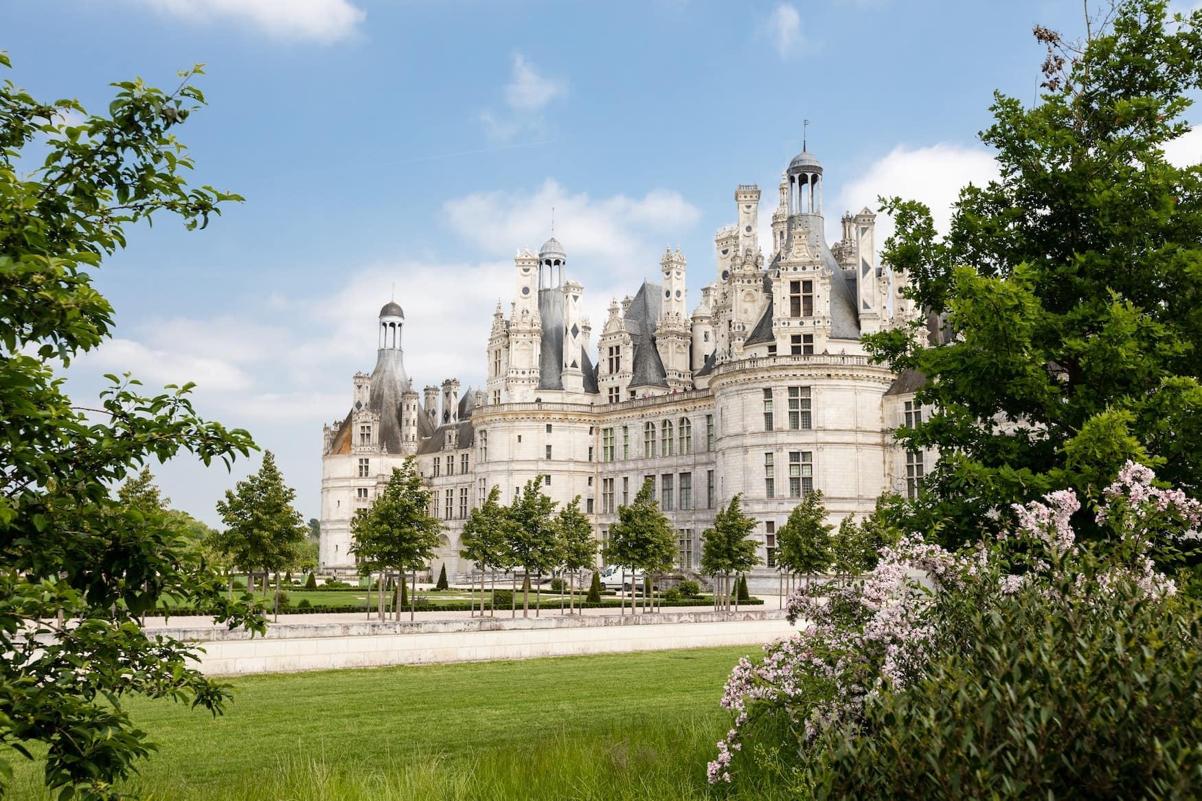 Chambord Schloss an der Loire in Frankreich