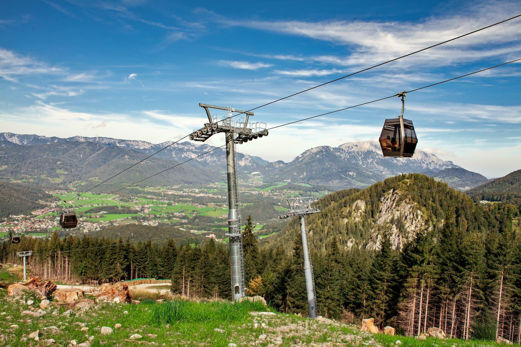 Eine Fahrt mit der Jennerbahn gehört zu unseren Tipps für das Berchtesgadener Land